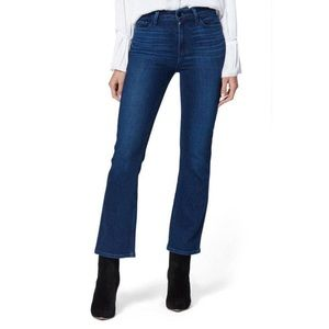 NWT Paige Claudine High Rise Crop Flare Jeans Vtg